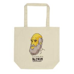 Yellow Darwin Tote Bag