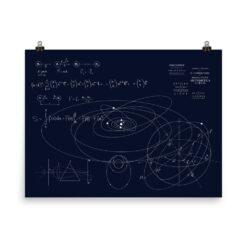 Classical Mechanics Poster