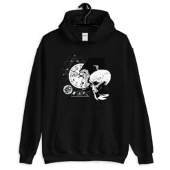 Evolution Abstract Hoodie
