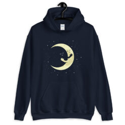 Crescent Moon Hugging Hoodie
