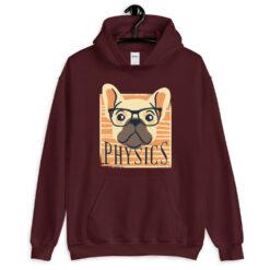 Nerdy Physics Dog Hoodie