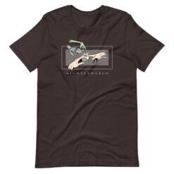 The Creation of Adam Parody T-Shirt