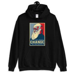 Charles Darwin Gradual Change Hoodie