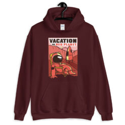 Vacation On Mars Hoodie