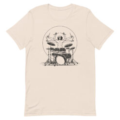 Da Vinci Drummer T-Shirt