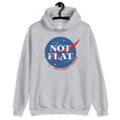 Not Flat – NASA Parody Hoodie