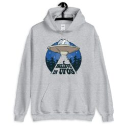 I Believe in UFO Hoodie