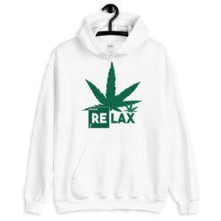 Relax Hemp Leaf Hoodie