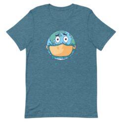 Face Mask Earth T-Shirt