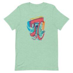 Cubist Pi Symbol T-Shirt